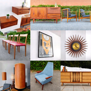 OPEN TODAY 10 am to 2pm Vintage and Midcentury store