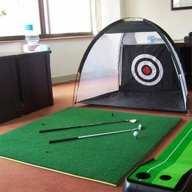 2M Outdoor Indoor  Golf Cage Detachable Swing Hitting Practice Net Training Aids