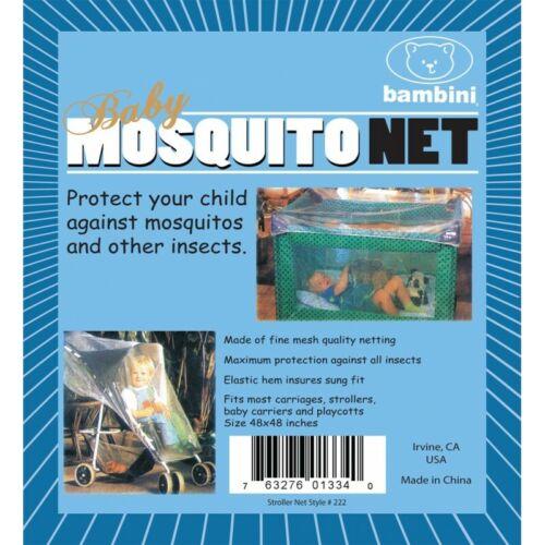Bambini Mesh Crib Mosquito Net