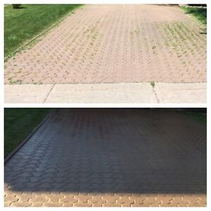 PAVE_UNI STONE - PAVER CLEANING & SANDING -RE-LEVELLING West Island Greater Montréal image 6