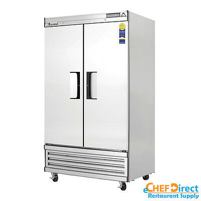 Everest Ebnf2 39 Double Door Reach-in Freezer