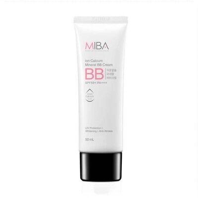 [USA Seller] MiBa Ion Calcium Mineral BB Cream SPF50+ PA+++ 50ml