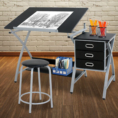 Architect Drawing (Table Drafting Design Drawing Desk Board Adjustable Storage Art Artist)