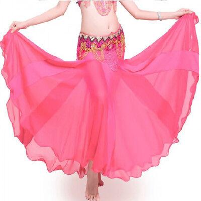 C241 Sexy Damen Bauchtanz Kostüm Rock Fishtail-Rock Belly - Rosa Damen Tanz Kostüm