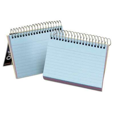 Oxford Spiral Index Cards 3 X 5 50 Cards Assorted Colors 078787402850