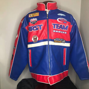 RB Racing Motorcycle Jacket w/Logos Brand New w/Tags