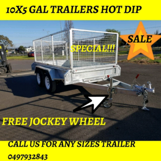 10x5 galvanised trailers roller rock suspension Warrnambool Warrnambool City Preview