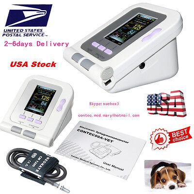 Us Contec08-vet Digital Blood Pressure Monitorveterinaryvetanimal Nibpfda Ce