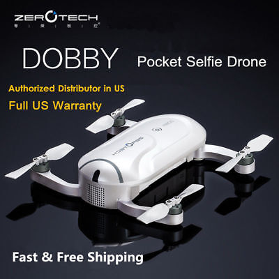 ZEROTECH Dobby Concentration Selfie Mini Drone With FPV 4K HD Camera US Warranty