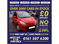 Ford Ka Edge Hatchback 1.2 Manual Petrol LOW RATE FINANCE AVAILABLE