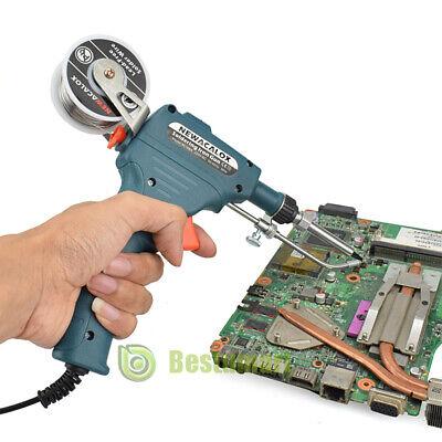 110v Manual Soldering Gun Electric Iron Automatic Welding Machine Tool Kit 60w A