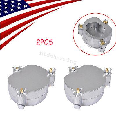 2x Us Dental Aluminium Denture Flask Compressor Parts Dental Lab Equipment Jt-12