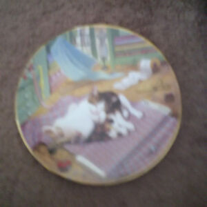 Country Kitties plate collection London Ontario image 6