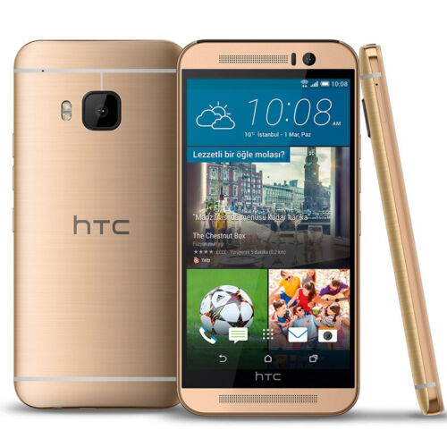 Htc One - HTC One M9 32GB Unlocked (AT&T) Smartphone Gray/Silver on Gold/Gold From USA