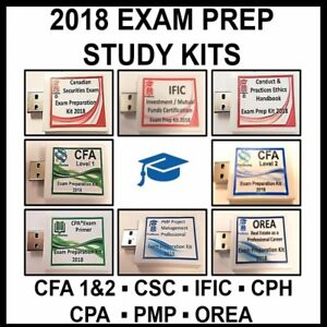 Fastrack Prep Study Notes CSC IFIC IFC CPH CFA CPA PMP