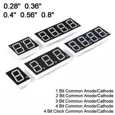 0.280.360.40.560.8 Red Led Display 7 Segment Common Cathodeanode 1-4 Digit