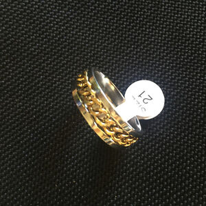 BLING RINGS HOT PRICE GOLD SILVER BLACK GOLD NEW