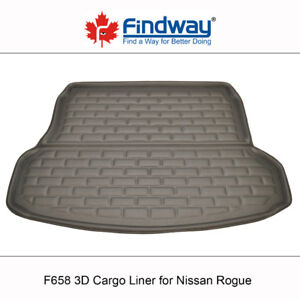 Findway F658 Style 3D Cargo Liner for 2014-2018 Nissan Rogue
