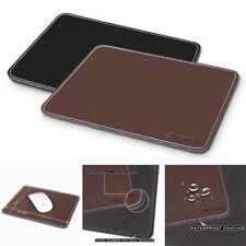 Leather Mouse Pad Antique Retro Classic Vintage PC Laptop Optical Mice Mat