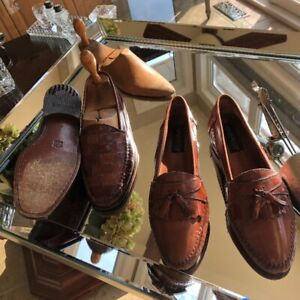 Giorgio Brutini  Italian mens leather loafer size 9D and 8.5 D