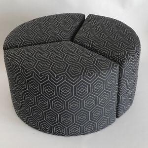 ottoman-pouf, 3 sections