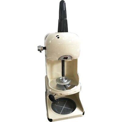 Us 110v 350w Snow Ice Shaver Ice Cream Shaving Maker Machine Crusher Commercial