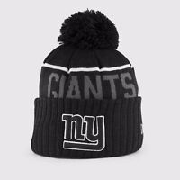 Lost: NY Giants Winter Toque with Pom Pom - Black and Grey