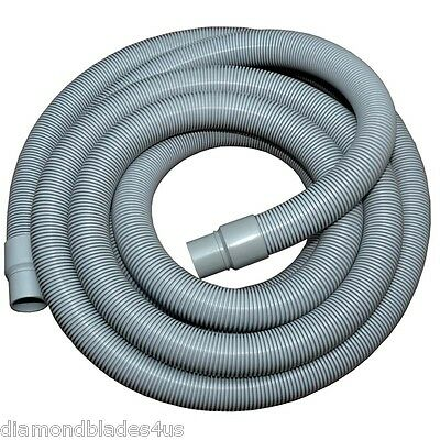 Heavy Duty Flexible Crush Proof  Vacuum Hose w/ Cuffs Use Wet or Dry  Heavy Duty Flexible Vacuum