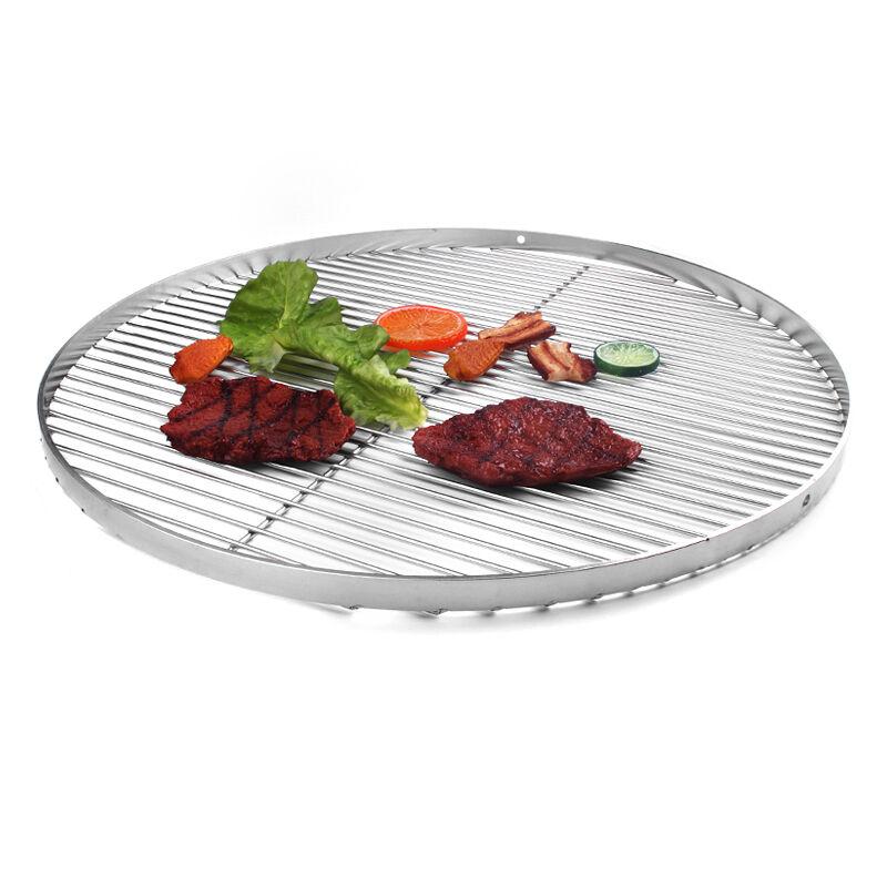 Grillrost Guss grillrost 44,5-54,5  Edelstahl 50-60-70-80/ 60 klappbar