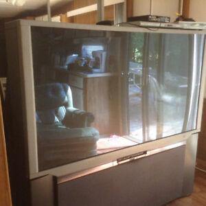 Great 65 inch  tv hitachi 65wx20b
