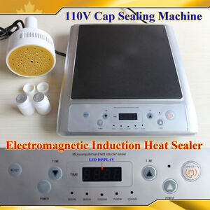 Electromagnetic Induction Heat Sealer Machine 110v For Lid Cap