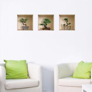 Nisha Home Decor Wall Art - 3D Vinyl Decals Stickers