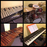 Piano, Drum Set and Percussion lessons in Cathedral
