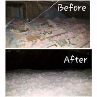 ATTIC INSULATION TOP UP! CALL NOW