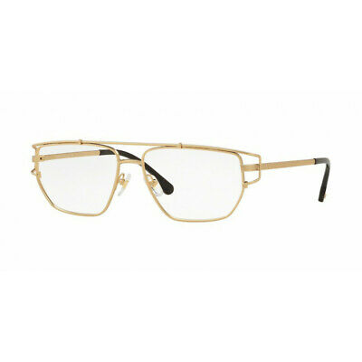 Eyeglasses Versace VE 1257 1410 Matte Gold No Box (2F)