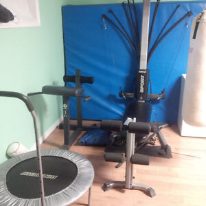 Bowflex and other equipment