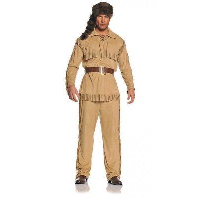 Underwraps Frontier Man Davy Crockett Erwachsene Herren Halloween Kostüm 29317