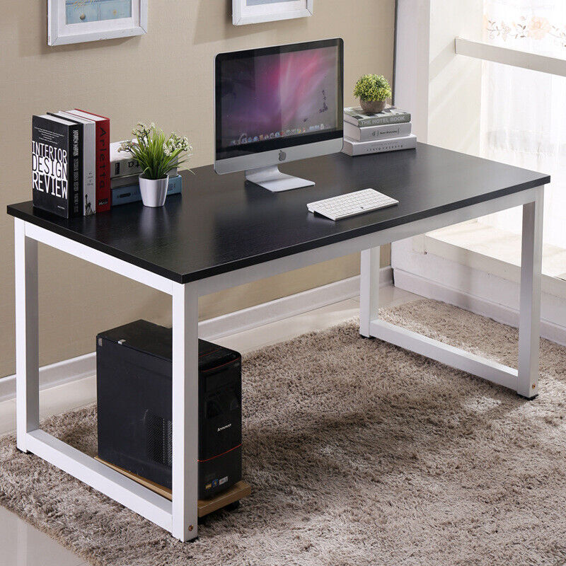 New Wood Computer Table Study Desk Office Furniture PC Laptop Workstation Home Business & Industrial