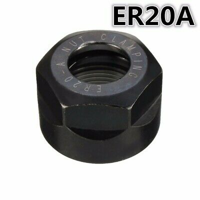 Er20 A Type 40cr Steel Collet Clamping Nut For Cnc Milling Chuck Holder Lathe