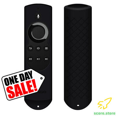 New Fire TV Stick Alexa Voice Remote Silicone Shock Proof Cover Case [2nd Gen]