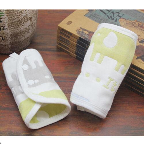 Natural Colored Cotton Newborn Baby Bibs Soft Bib Burp Cloth