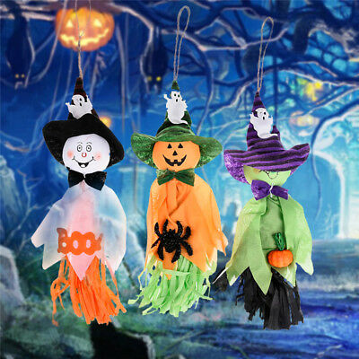 Cute Ghost Hanging Hangtag Halloween Decorations Kids Toys Funny Joking Props - Cute Kid Halloween Decorations
