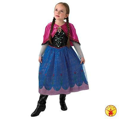 RUB 3610366 Disney Kinder Kostüm Anna Musical Light up Frozen Kleid Prinzessin