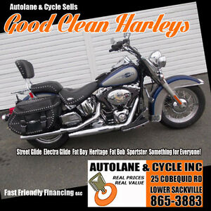 2007 Harley Davidson Heritage Softail Classic Sharp Bike