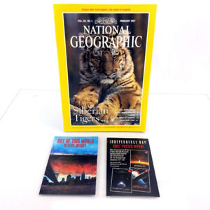 February 1997 National Geographic Magazine Single Issue Tigers