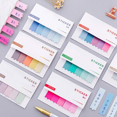Gradient Cute Sticker Bookmark Sticky Notes Point Marker Memo Post Tab Flag Hot