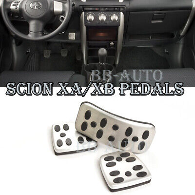 For 04-06 scion xA/xB MT Gas Clutch Brake Foot Accelerator Pedals Cover Pad x3