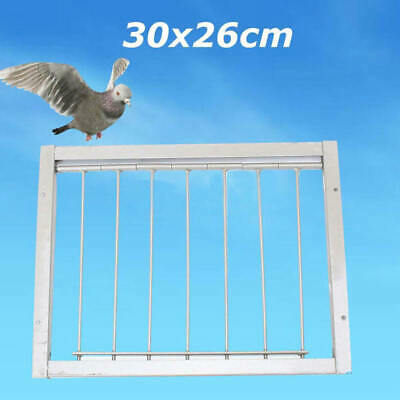 30*26cm Door Wires Bars on Frame Entrance Tumbler for Racing Pigeon Loft Bird