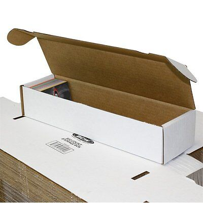 Lot Of 50 Small White Cardboard Shipping Boxes - 14 X 3 34 X 2 34