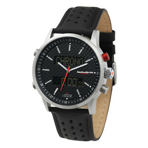Avanti Watch by Lambretta-Model: 2112bla with Carbon Fiber Dial.